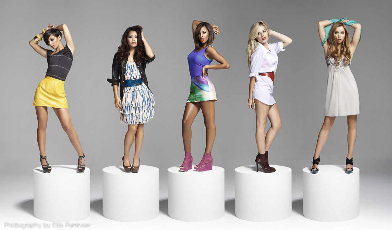 Image Bliss Retouching, comping, Photo retoucher, Ellis Parrinder, fashion, beauty, The Saturdays