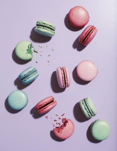 Ellis Parrinder - Stylist Magazine - Hair Colour - Macaroons - retouching by Davina