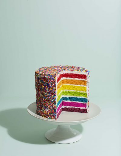 Ellis Parrinder - Stylist Magazine - Hair Colour - Rainbow Cake